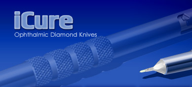 iCure - Ophthalmic Diamond Knives